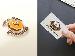 Логотипы, фирменный стиль, дизайн рекламных материалов! Профессионально!