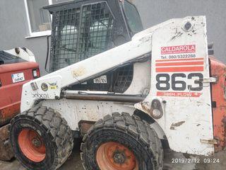 Vladion Construct SRL    Oferim servicii bobcat 863/услуги bobcat 863
