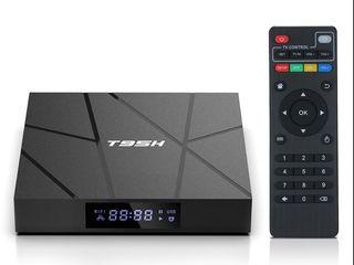 Android TV box Т95h 4/32Gb, procesor care lucreaza pt plăcerea dumneavoastră! Garantia 12luni