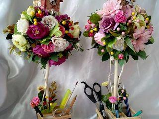 , Букеты из искусственных цветов, Букеты из конфет,Букет невесты