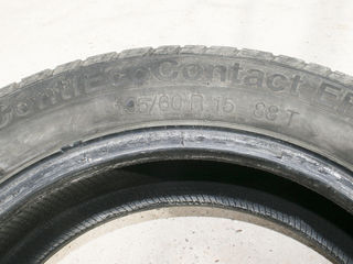 Продам Б/У летнею резину 195/60 R15 88 Т , Continental, Made in Portugal . 4 шт. Протектор-МIN!