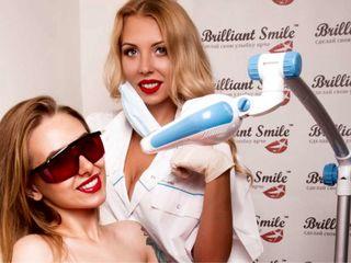 Подарочный сертификат на экспресс отбеливание зубов от «Brilliant Smile»