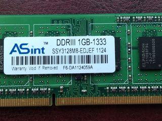 Память ASint DDR3 1Gb 1333Mhz для ноутбука