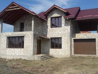 Casa cu 2 nivele la Bubueci,proiect modern, varianta sura.Pret 59000 euro