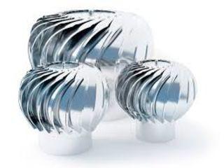 Вентиляционные дефлектора из нержавейки / INOX