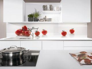 Разработка дизайна для кухонных фатруков. Печать на стекле! Установка.