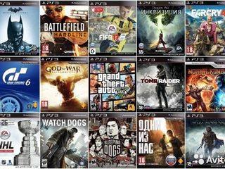 Установка и продажа игр на PS4, PS3, PS2, PSP, PS Vita, Nintendo Wii..