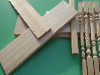 Деревянные ступени для лестницы - готовые конструкции.