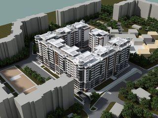 Exfactor-Grup -Centru - 2 odăi, 71m2-13850 euro prima rata!!