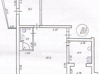 2-комнатная квартира с мебелью и бытовой техникой в г.Рыбница по ул.Вальченко=$36990
