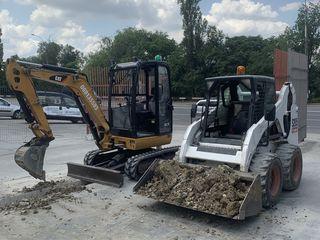 Servicii mini excavator/bobcat !!!