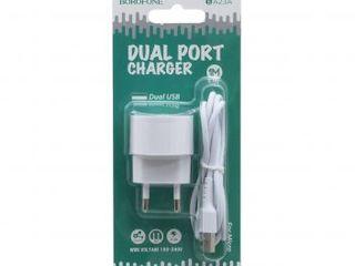BA23A Brilliant dual port charger set(Micro)(EU)