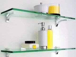 Навеска ванных и кухонных аксессуаров. Полочки, зеркала и др .Качественно. Мастер.