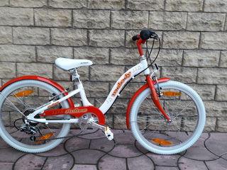 Продам велосипедик Author Melody от 5 до 9 лет . Размер колес 20.