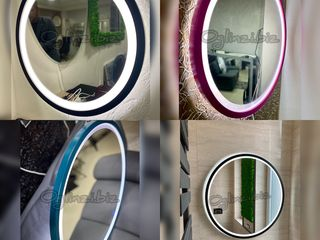 Oglinzi individuale la comanda cu rame si led