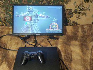 Чистая,ухоженная прошитая Playstation 3 ( 120 гб ) плюс классные игры - 1800 лей