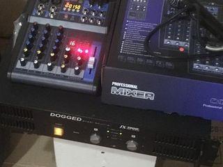 Mixer Pasiv cu flash USB , bluetooth 4 canale. 1600 lei nou