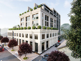 Un veritabil club house în Centrul Istoric / Apartament cu 3 odăi și terasă / 132.1m.p.