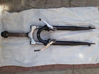 """Передняя вилка Kettler 26"""" подседельный штырь с амортизатором Регулируемый вынос руля Моноблоки"""