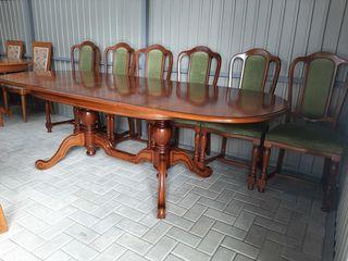 Mese+scaune masive