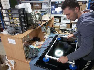 Ремонт LED, LCD, 3D, Smart-TV, 4K - на дому у заказчика.Замена подсветки телевизоров.