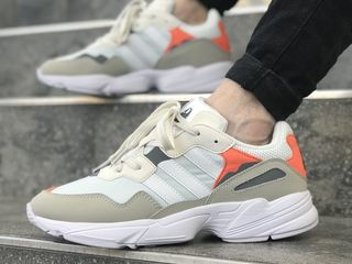 Adidas Yung 96 White & Orange