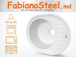 Fabiano мойки, кухонные смесители, встраиваемая техника | Fabiano chiuvete, baterii de bucatarie.