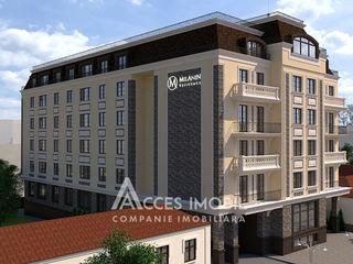 Milanin Residence! Centru, str. Alexei Şciusev, 1 cameră +living! Varinată albă!
