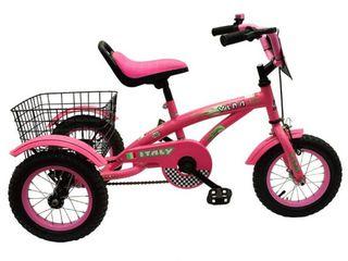 """Велосипед трехколесный детский 3-6 лет Italy 12"""""""