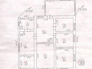 Продам каменный газифицированный дом 5 комнат, гараж в с.Ержово=$26990