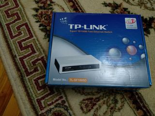 switch TP- LINK TL-SF1005D