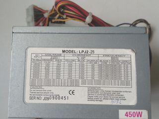 Surse PC 400-550W fan 80 mm și 120 mm