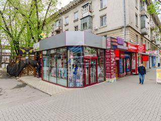 Сдаётся в аренду коммерческое помещение 130 м2 район Центр ул. Штефан чел Маре 1800 €