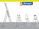Scari, лестницы, стремянки, индустриальные в 1, 2, в 3 сложения, трансформеры