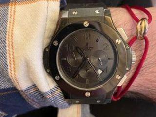Ceas Hublot Big Bang, Rochas Paris, AKRIBOS ceas clasic cu diamante SWISS QUARTZ