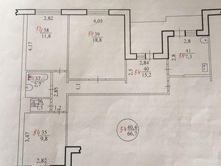 Трехкомнатная квартира 67 м2, ул. Вальченко 45, 5 этаж/9, 14000$