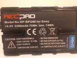 Li-Ion аккумулятор Redpro RP-BPU80 для Sony PMW
