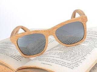 Ochelari de soare polarizati din bambus!
