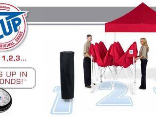 Раскладные палатки E-Z Up 3x3 м. для выставки и торговли