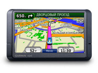 GPS навигатор Garmin Nuvi 215W