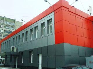 Вент фасады, fațade ventilate, композит