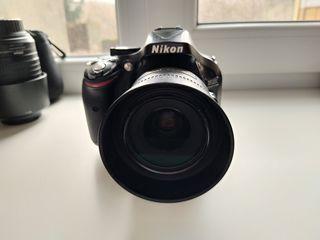 Nikon D5200 + Nikon AF-S Nikkor 35mm f/1.8G + 55-200 4-5.6G
