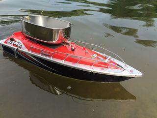Радиоуправляемый Корабль для завоза прикормки и снастей на 300М - для настоящих рыбаков!