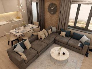 2 уровня.137 метра+Терраса.Лоджия, Балкон 3 спальни ,2 санузла,2 гардероб,Окна Панорамные,Лофт стиль