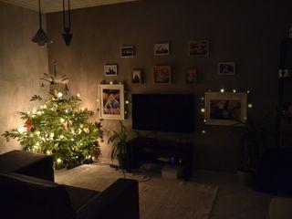Уютный, теплый и светлый дом.