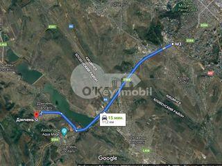 Teren pentru construcții, zonă verde lângă lac, 6 ari, Dănceni, 7900 €