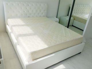 Со склада! Кожаные кровати с усиленным каркасом. От 2900 лей. Продажа в кредит!