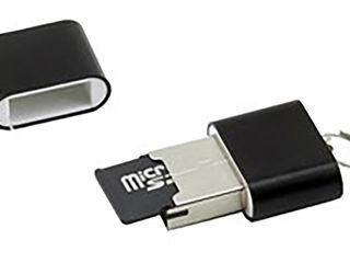 USB MicroSD кардридеры. Разные. Все новые