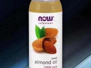 Almond oil 100% чистое миндальное масло now foods (сша)