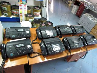 Факсы Panasonic и Canon б/у. Telefoane fax Panasonic şi Canon f/f.